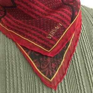 VERSACE 100% silk handkerchief / scarf